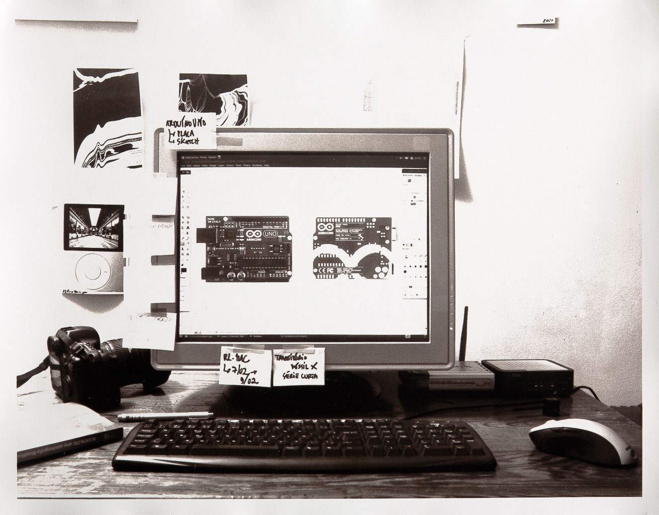Estação Linux e Arduino Uno (com Ronaldo Lemos)